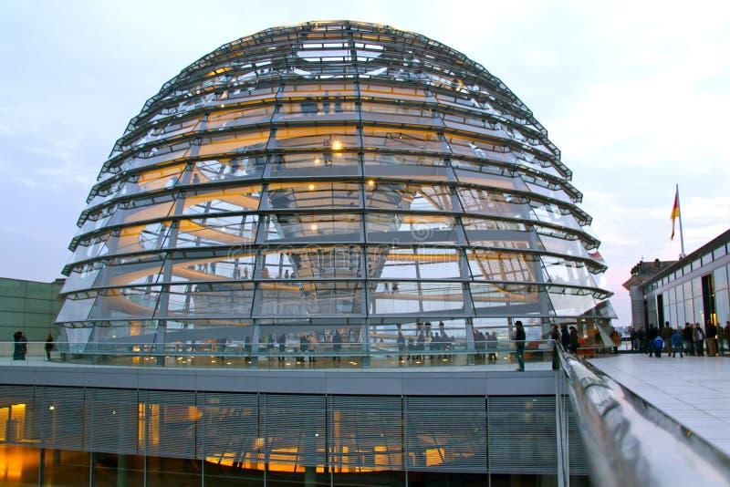 De koepel van Reichstag, Berlijn royalty-vrije stock afbeeldingen