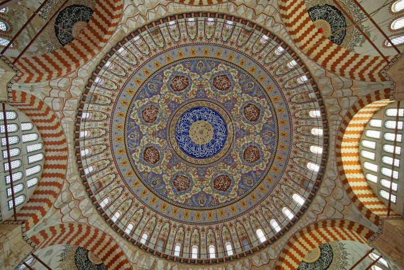 De Koepel van Selimiye-Moskee royalty-vrije stock afbeelding