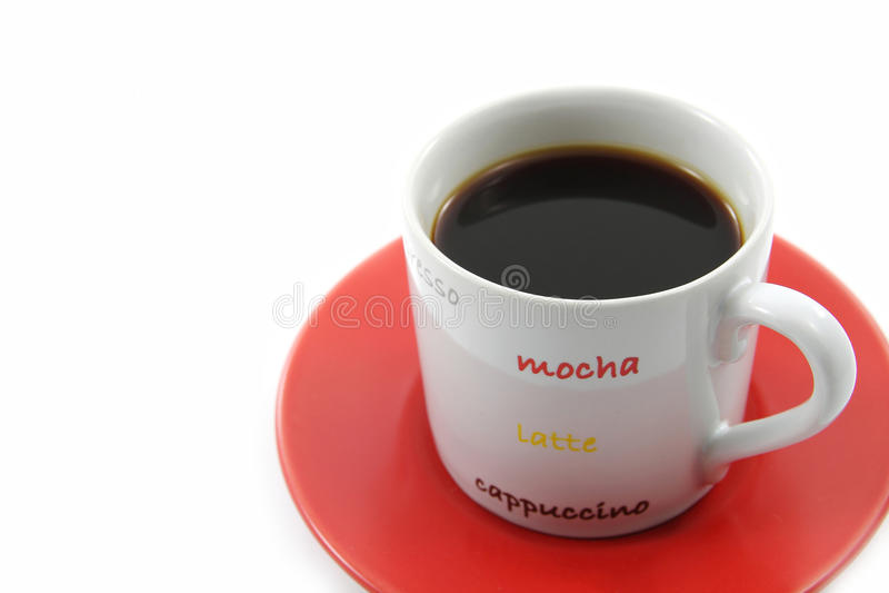 De koffie is gemakkelijk. royalty-vrije stock fotografie