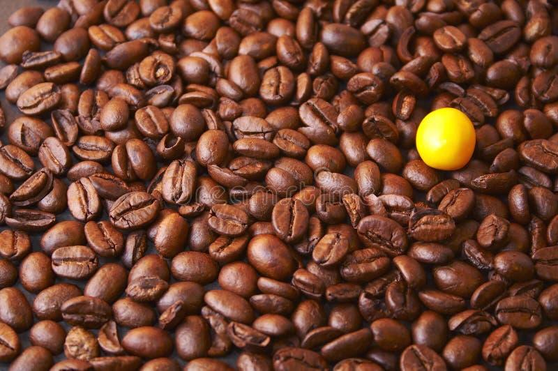 De koffie maakt het verschil stock foto