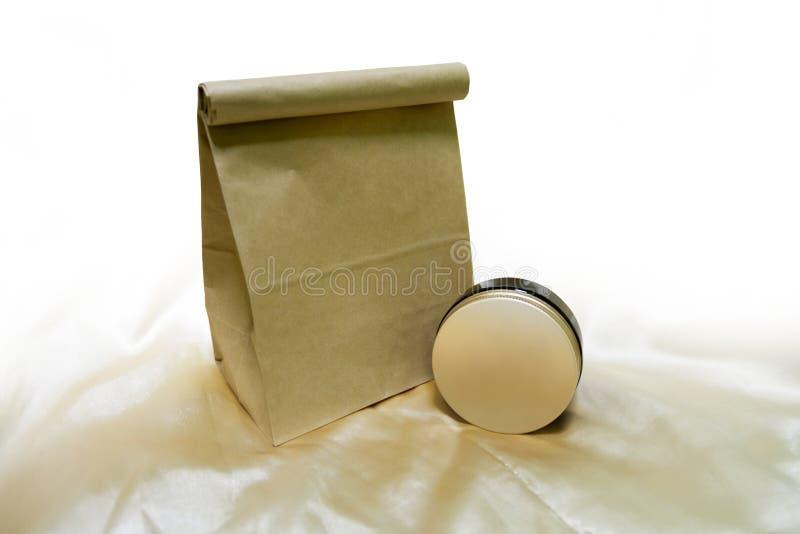 De koffie schrobt Pakket stock afbeeldingen