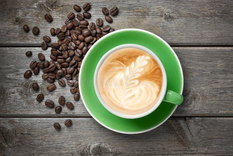 De Koffie van cappuccino's royalty-vrije stock foto's
