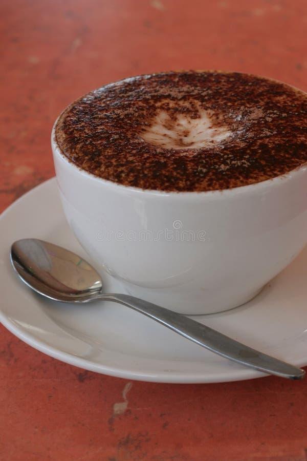 De Koffie van Cappucino royalty-vrije stock foto's