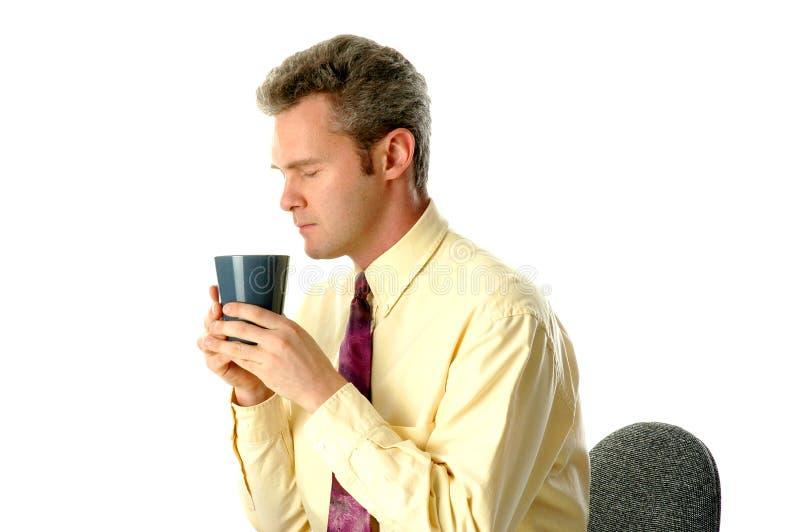 Download De koffie van de ochtend stock afbeelding. Afbeelding bestaande uit mededeling - 34587