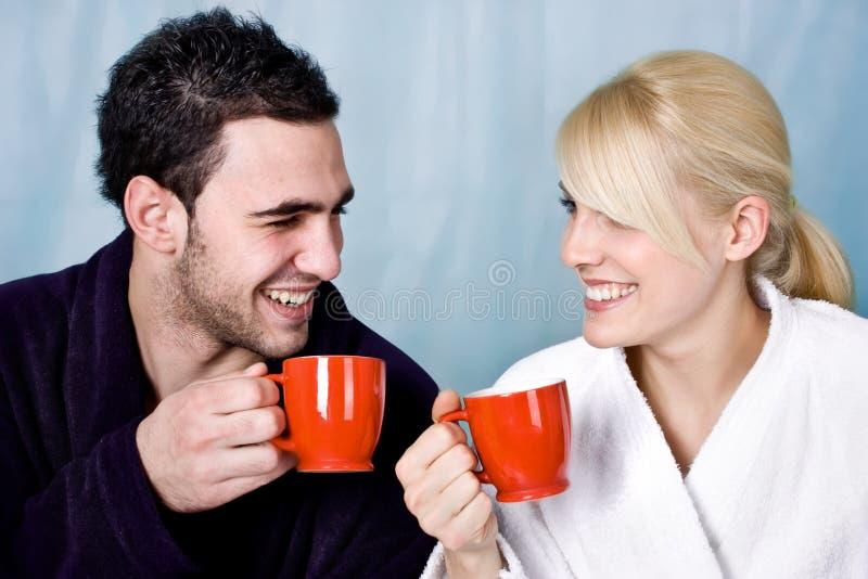 De koffie van de ochtend royalty-vrije stock foto's