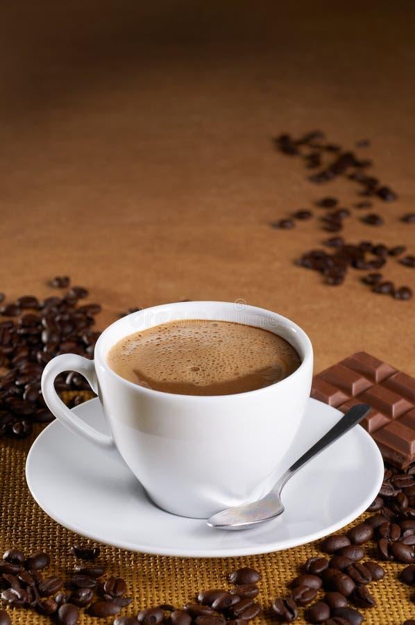 De koffie van Mocha royalty-vrije stock afbeeldingen