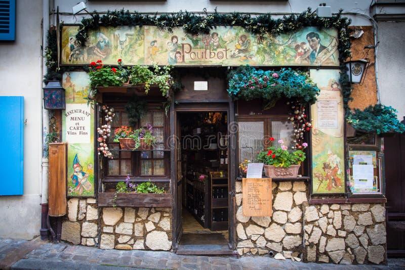 De koffie van Parijs royalty-vrije stock afbeeldingen