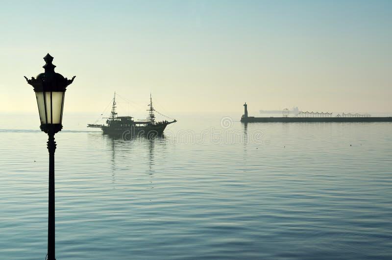 De koffiebar van het Arabellaschip royalty-vrije stock fotografie