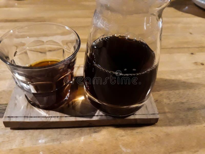 de koffiedruppel Vietnamees is uitstekend stock afbeelding