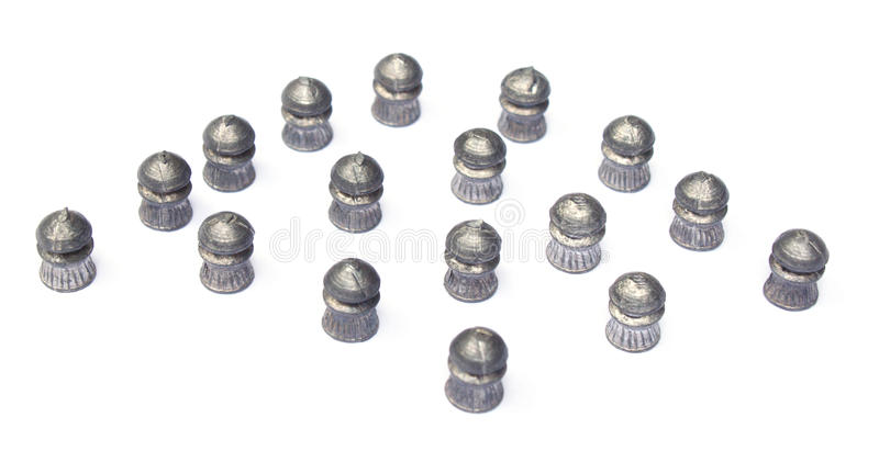 De kogels van Airgun royalty-vrije stock fotografie