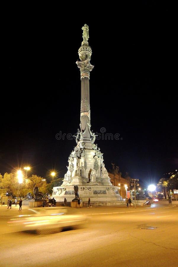De kolom van Christoffel Colombus royalty-vrije stock afbeeldingen