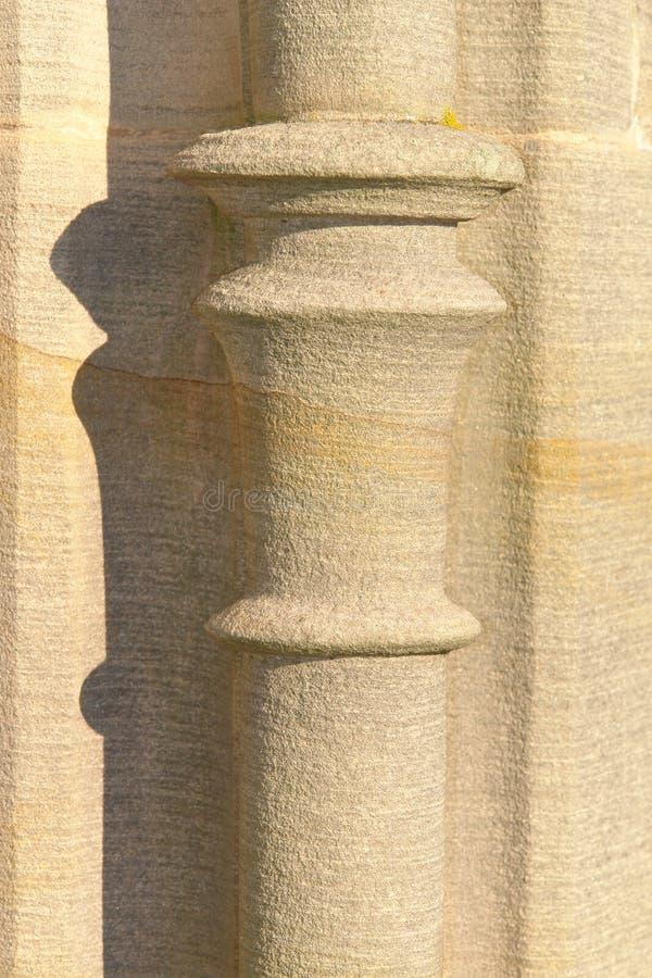 De Kolom van het zandsteen royalty-vrije stock foto