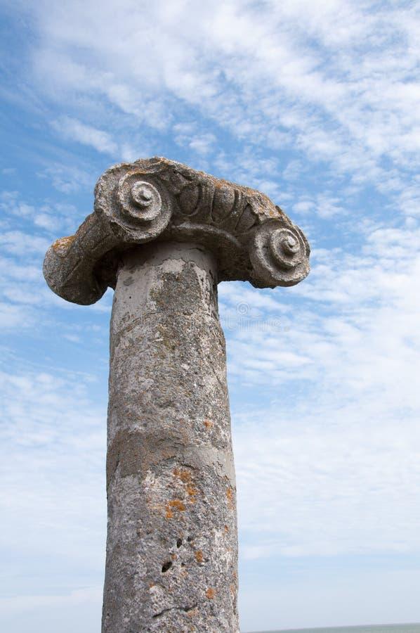 De kolom van Histria stock foto