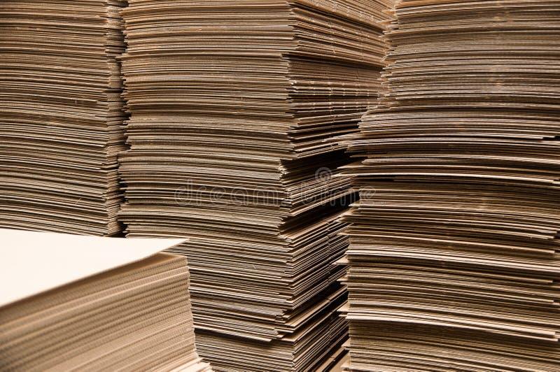 De kolommen van het document royalty-vrije stock afbeelding