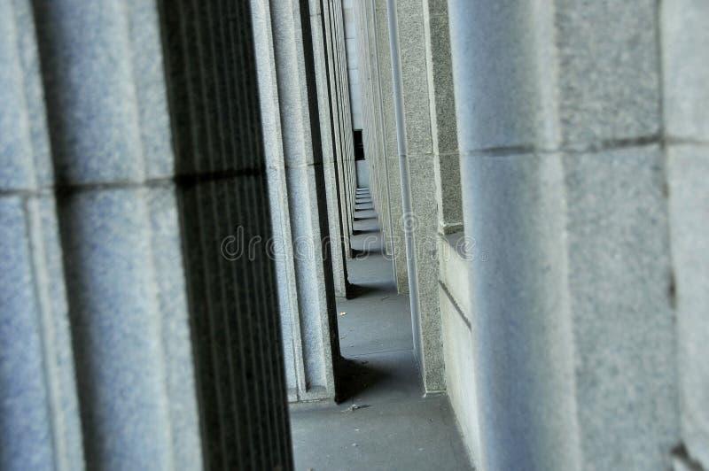 De Kolommen van het graniet stock foto