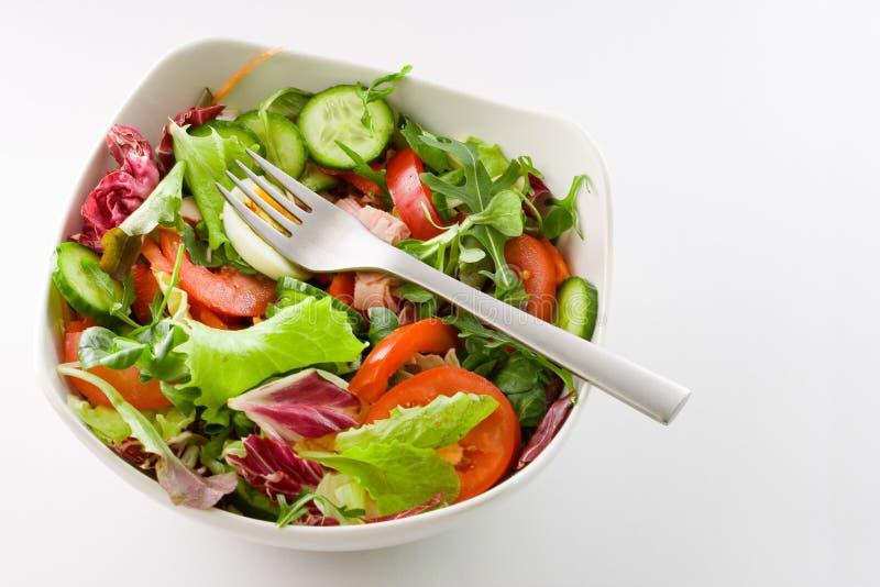 De Kom van de salade royalty-vrije stock foto