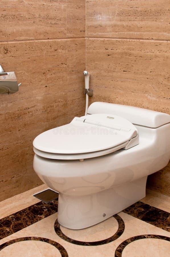 De Kom van het toilet stock afbeeldingen