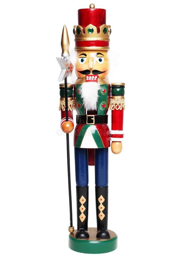 De koning van de Kerstmisnotekraker royalty-vrije stock fotografie