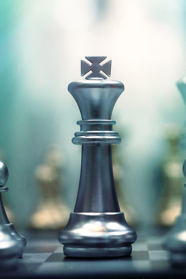 De Koning van het schaak royalty-vrije stock afbeeldingen