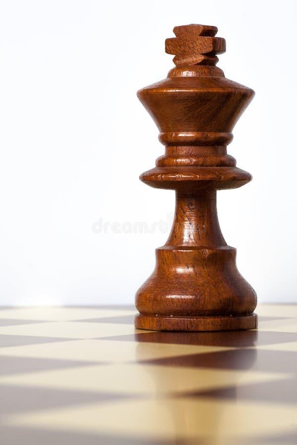 De koning van het schaak royalty-vrije stock fotografie