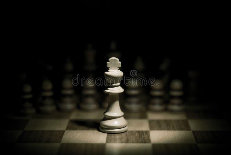 De koning van het schaak royalty-vrije stock foto's
