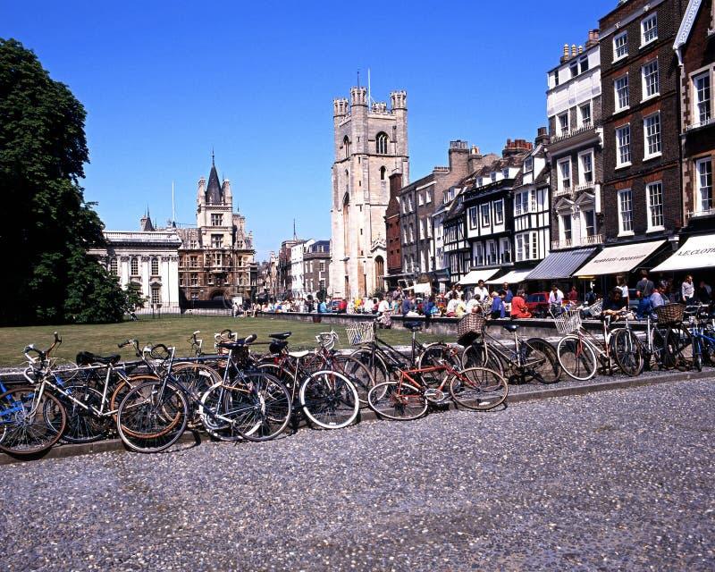 De koningen paraderen, Cambridge stock foto's