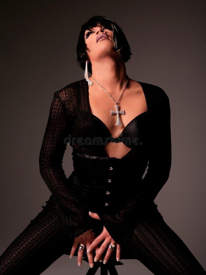 De Koningin van de belemmering stock foto