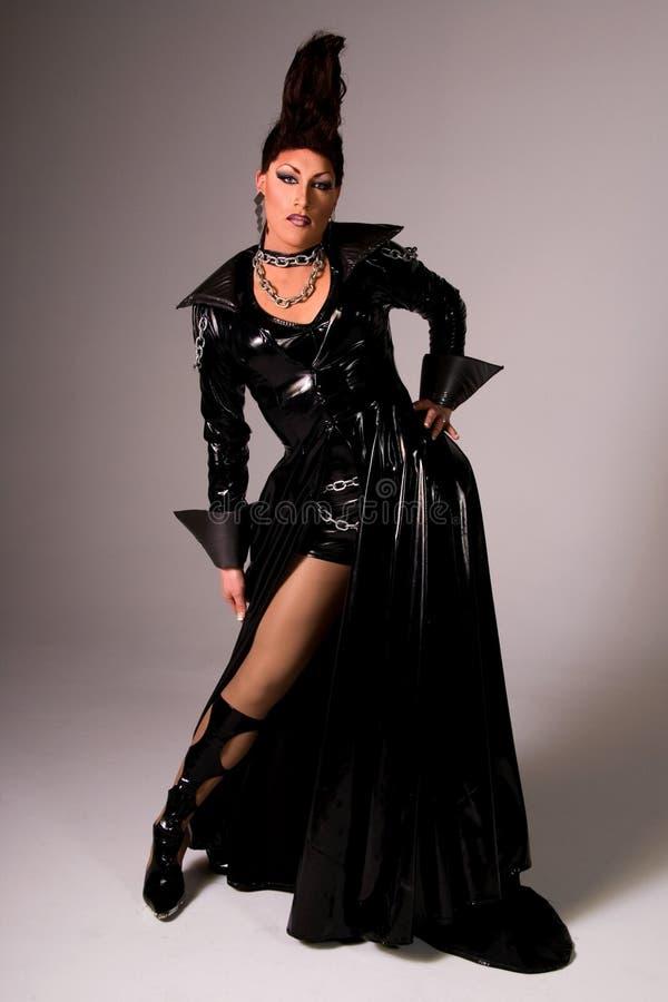 De koningin van de Belemmering van de manier. stock foto