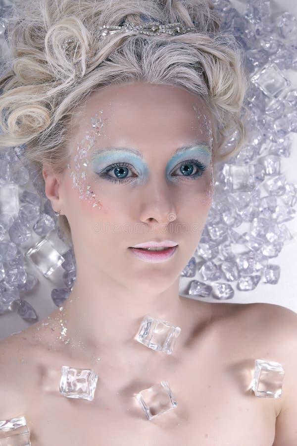 De koningin van het ijs stock foto