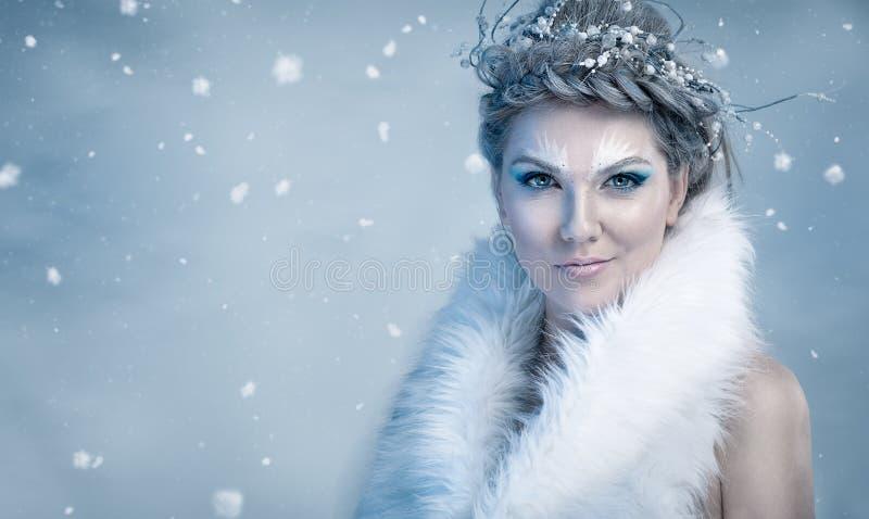 De Koningin van het ijs royalty-vrije stock afbeeldingen