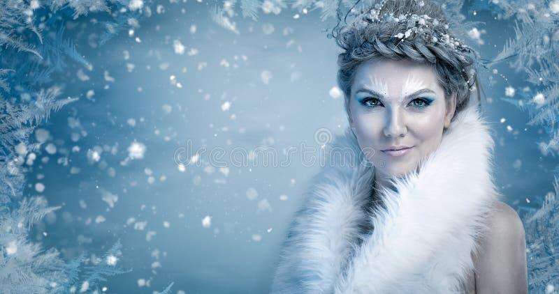 De Koningin van het ijs royalty-vrije stock fotografie