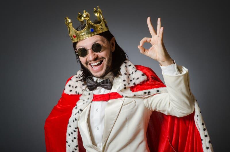 De koningszakenman royalty-vrije stock foto's
