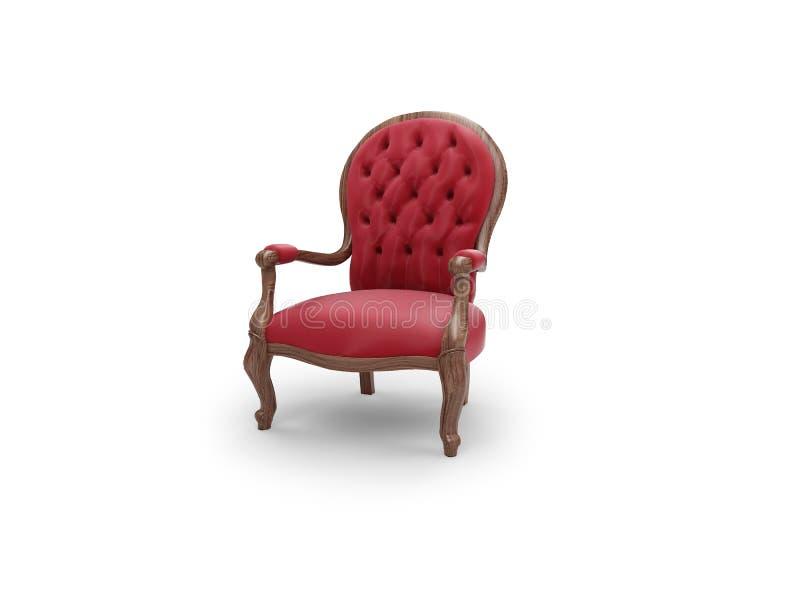 De koninklijke antiquiteit van het meubilair vector illustratie