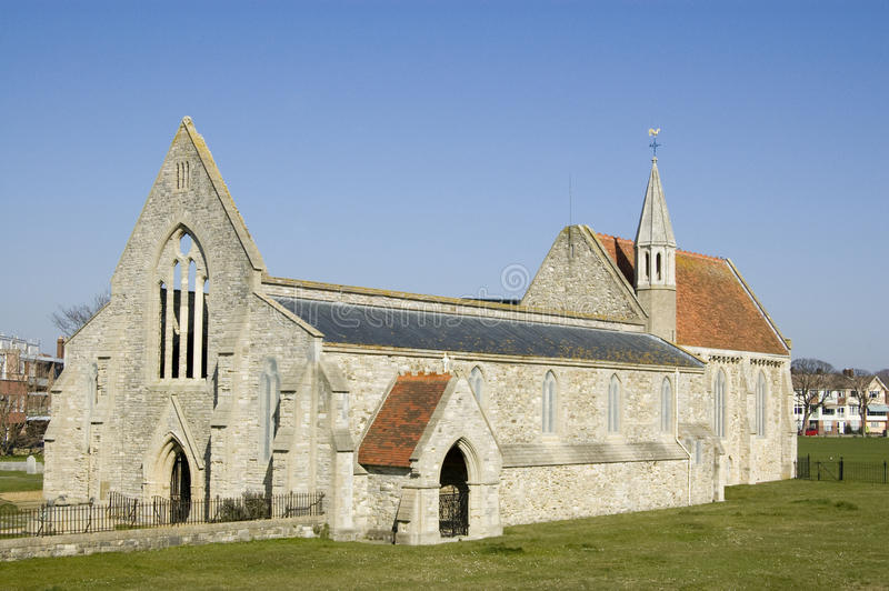 De Koninklijke Kerk Van Het Garnizoen, Portsmouth Royalty-vrije Stock Fotografie