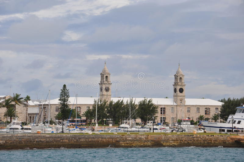 De Koninklijke Marinewerf in de Bermudas royalty-vrije stock fotografie