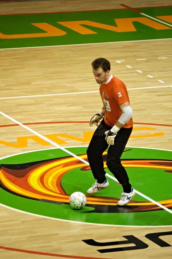 De Kop 2008-2009 van UEFA Futsal stock afbeelding