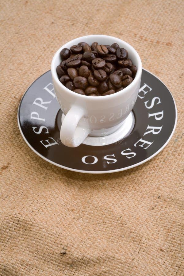De kop van de espresso royalty-vrije stock fotografie