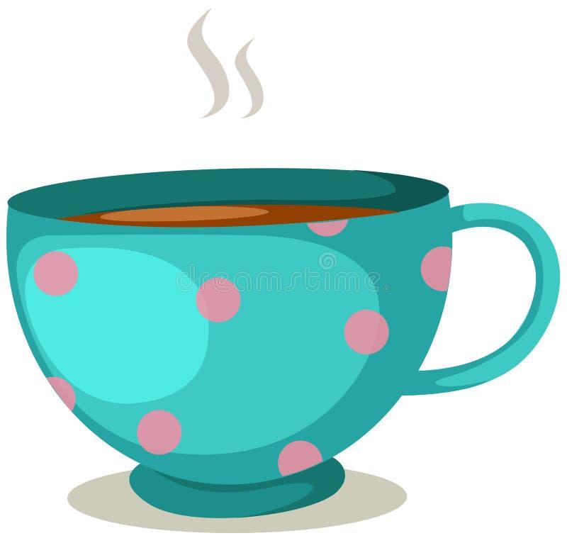 De kop van de koffie vector illustratie