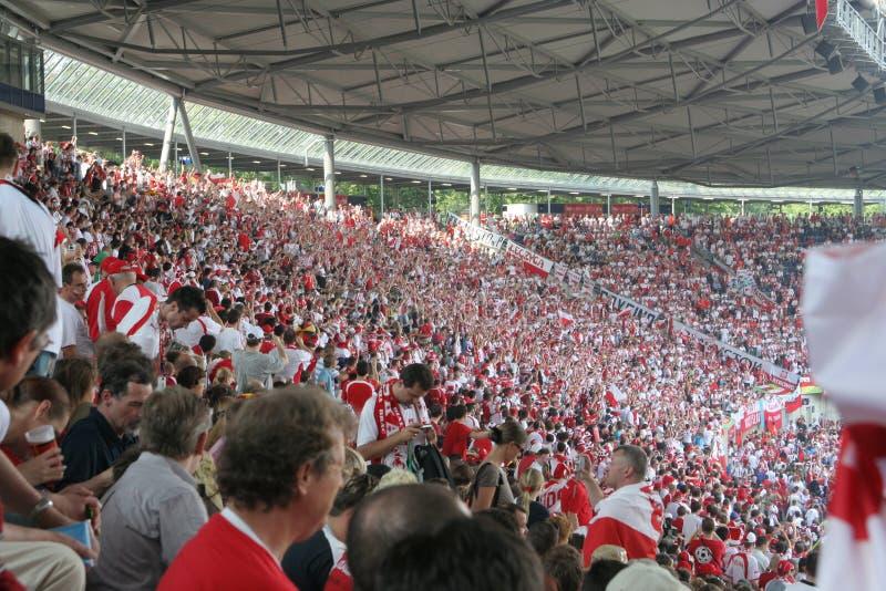 De Kop van de Wereld van FIFA 2006 Polen-Costa Rica stock afbeelding