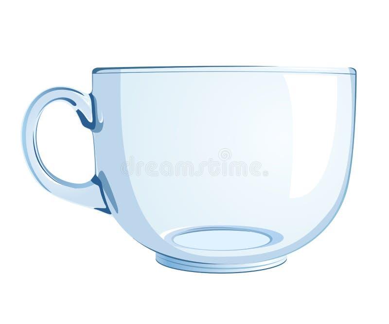 De kop van het glas vector illustratie
