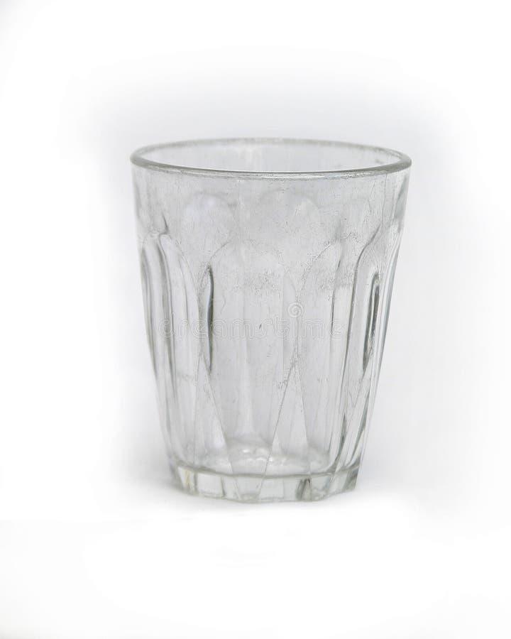 De Kop Van Het Glas Die Op Wit Wordt Geïsoleerdn Royalty-vrije Stock Fotografie