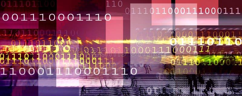 De kopbal van Internet vector illustratie