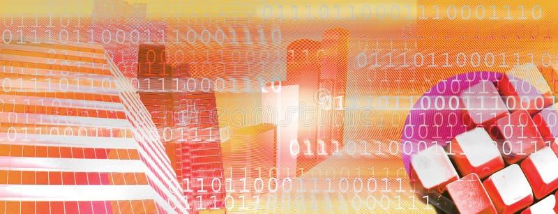 De kopbal van Internet (vector) vector illustratie
