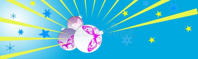 De kopbal van Kerstmis vector illustratie