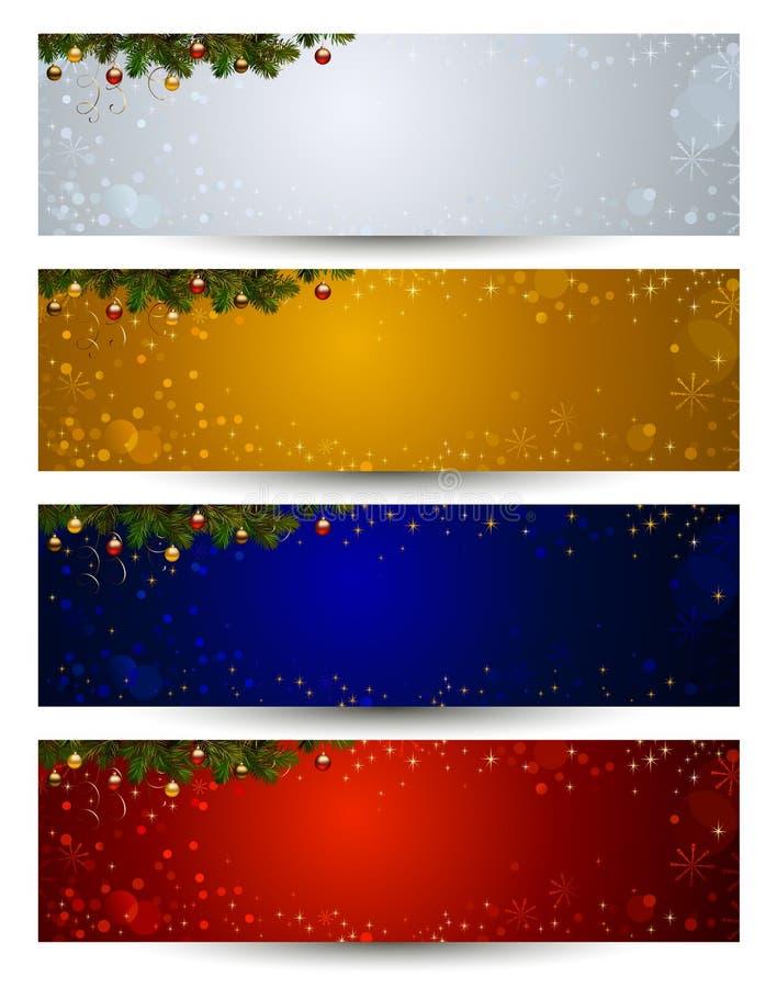 De kopbal van Kerstmis stock illustratie