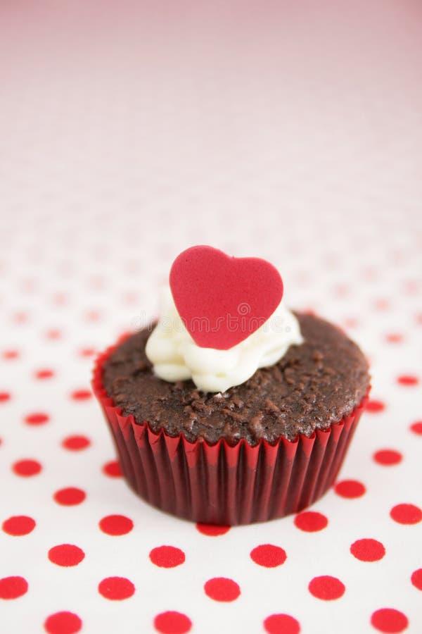 De kopcake van de liefde stock fotografie