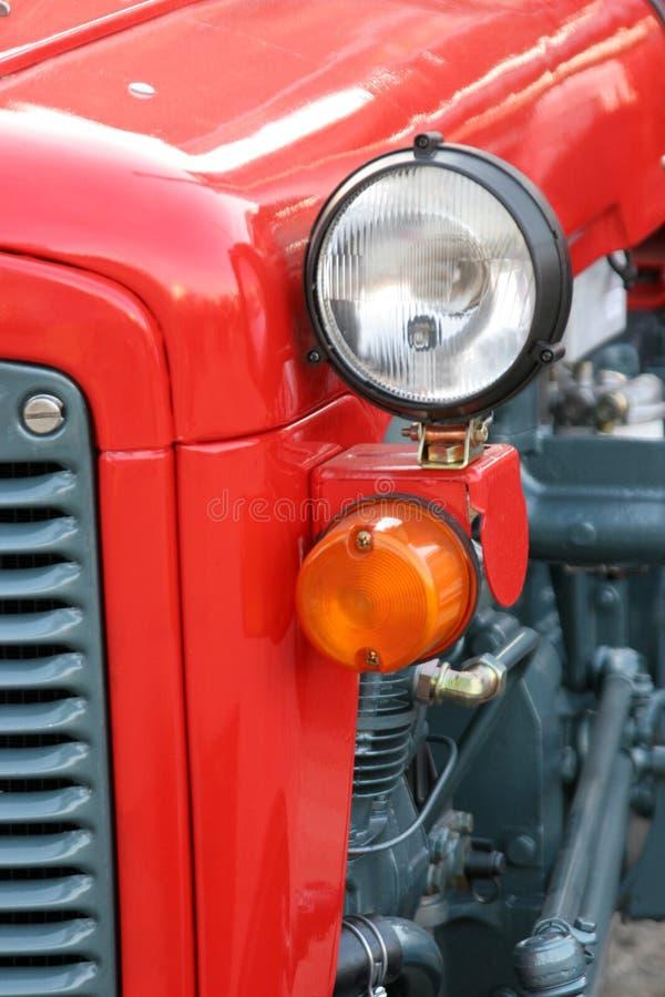De koplamp van de tractor royalty-vrije stock fotografie