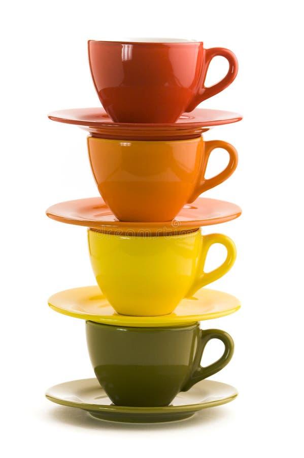 De koppen van de kleur royalty-vrije stock foto