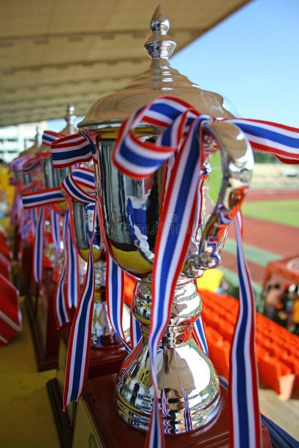 De Koppen van het kampioenschap stock foto