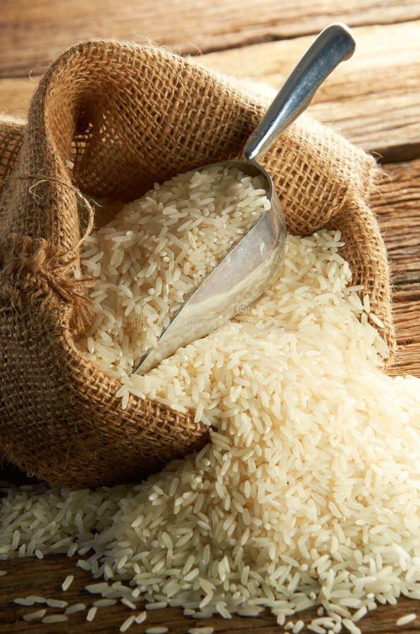 De Korrel van de rijst stock afbeelding